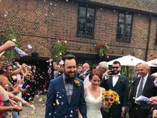 Laura Evans  & Graham Evans 's wedding