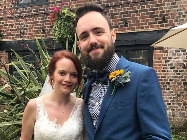 Graham Evans  and Laura Evans 's wedding in Eltham South, Central London 1