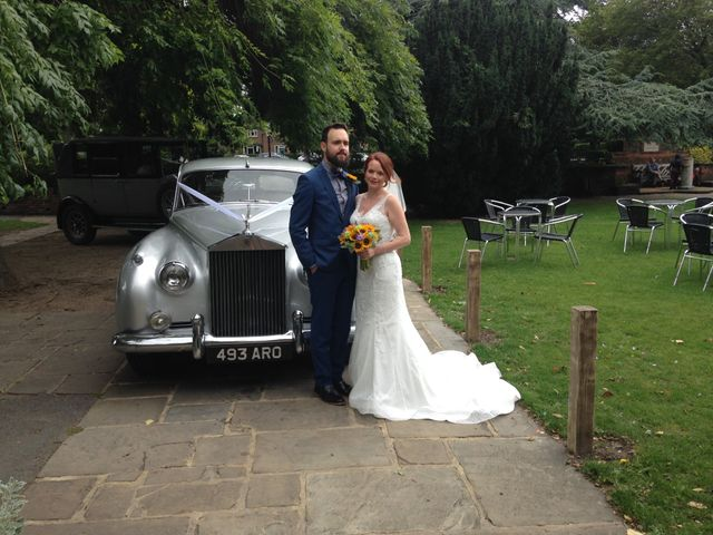 Graham Evans  and Laura Evans 's wedding in Eltham South, Central London 2