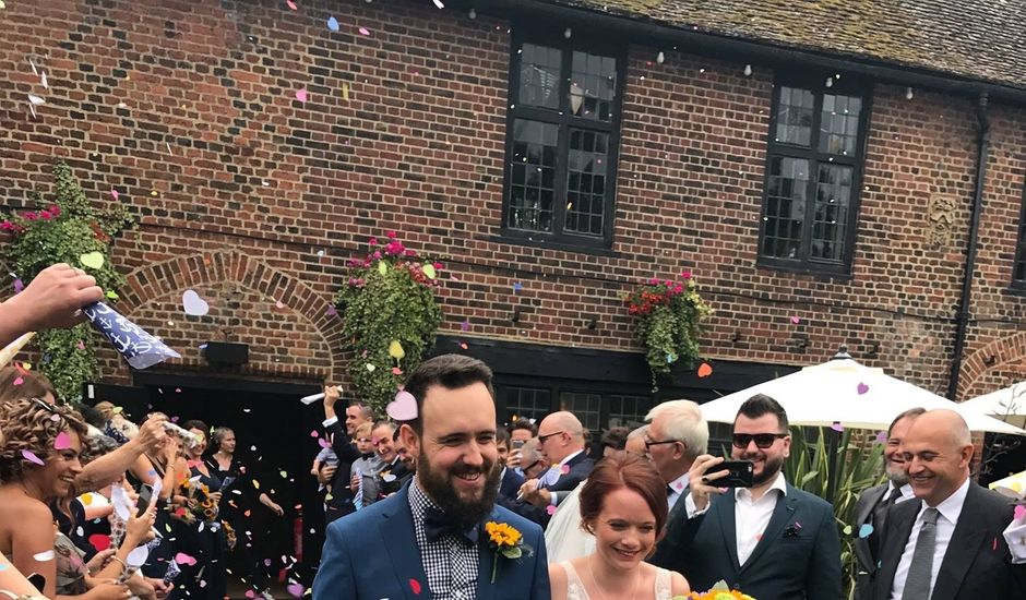 Graham Evans  and Laura Evans 's wedding in Eltham South, Central London
