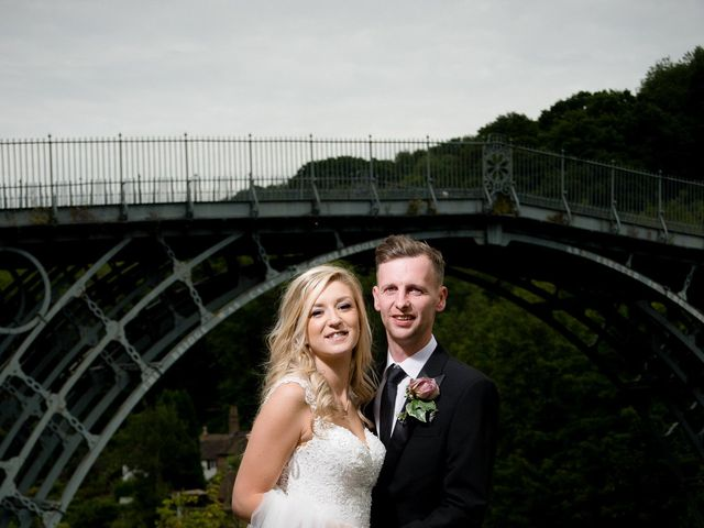 Scott and Laura's wedding in Ironbridge, Shropshire 2