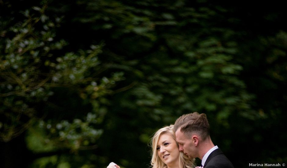 Scott and Laura's wedding in Ironbridge, Shropshire