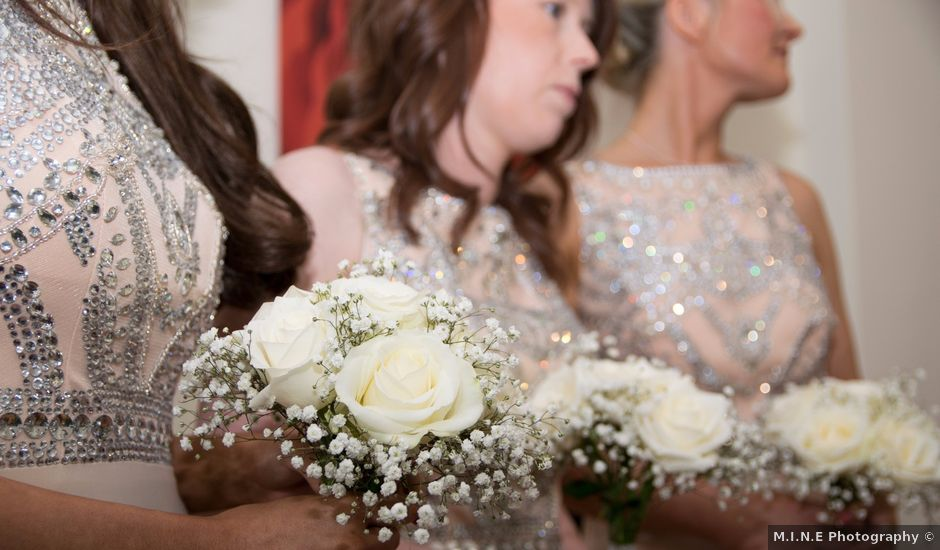 Tracey and John's wedding in Yarm, North Yorkshire