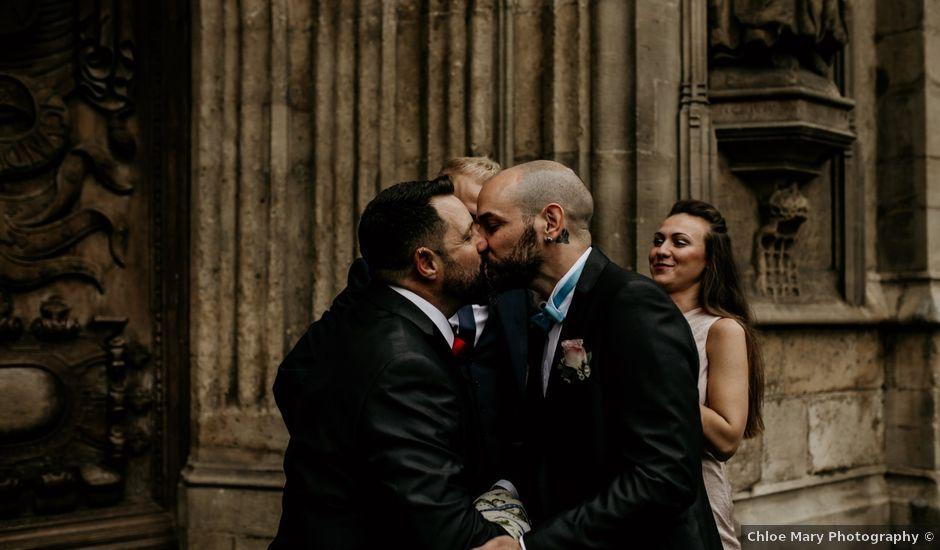 Jaime and Jose's wedding in Bath, Somerset