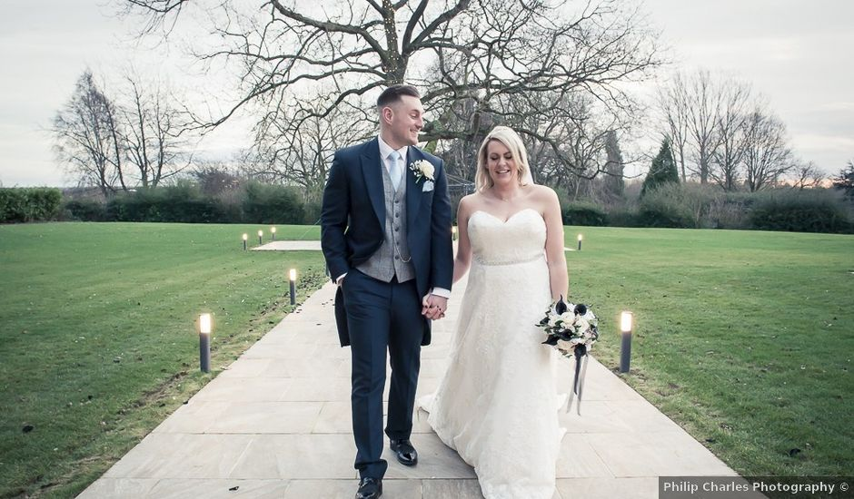 Tom and Sian's wedding in Leicester, Leicestershire