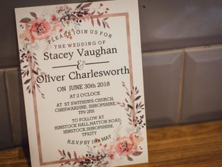 Stacey & Oliver's wedding 2