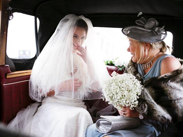 Johnny and Kylie's wedding in Enniskillen, Fermanagh 1
