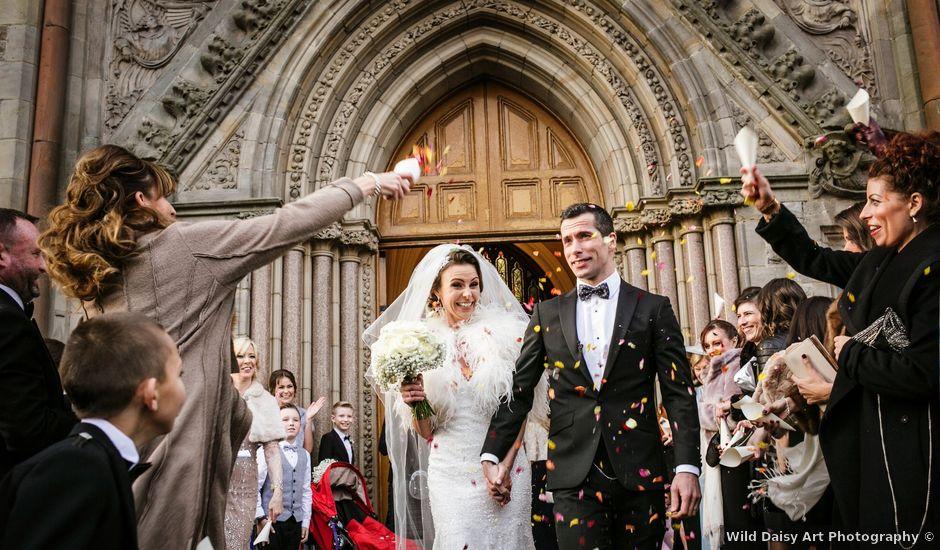 Johnny and Kylie's wedding in Enniskillen, Fermanagh