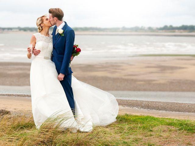 Danny and Viktorija's wedding in Bridgend, Bridgend 1
