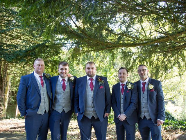 Chris and Laura's wedding in Esholt, West Yorkshire 8