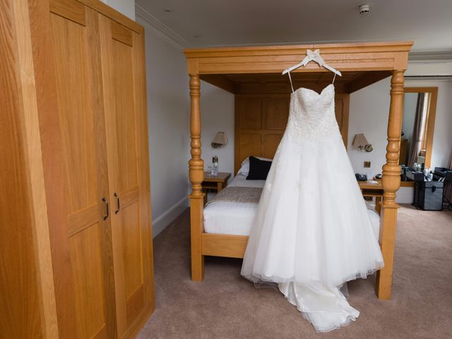 Phil and Natalie's wedding in Tewin, Hertfordshire 3