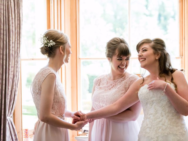 Phil and Natalie's wedding in Tewin, Hertfordshire 6