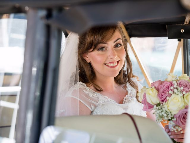 Phil and Natalie's wedding in Tewin, Hertfordshire 8