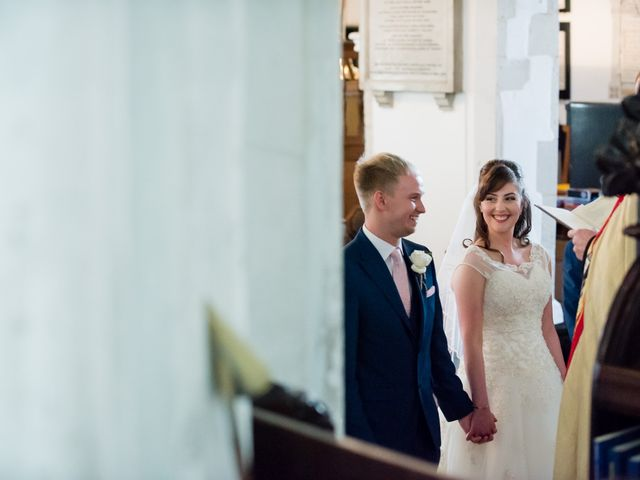 Phil and Natalie's wedding in Tewin, Hertfordshire 9