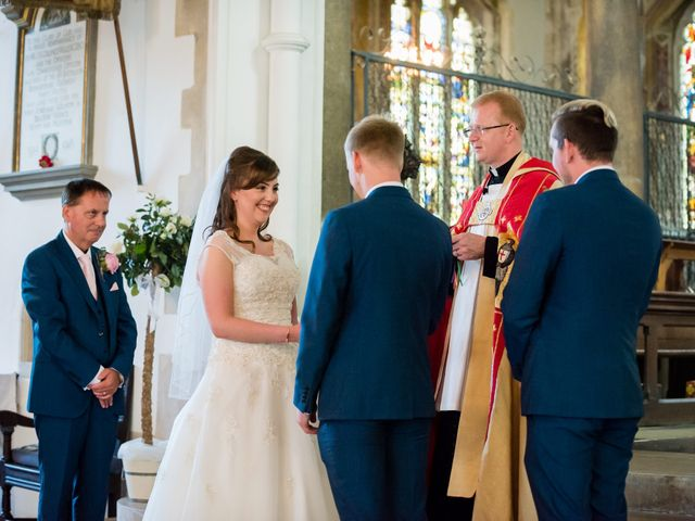 Phil and Natalie's wedding in Tewin, Hertfordshire 10