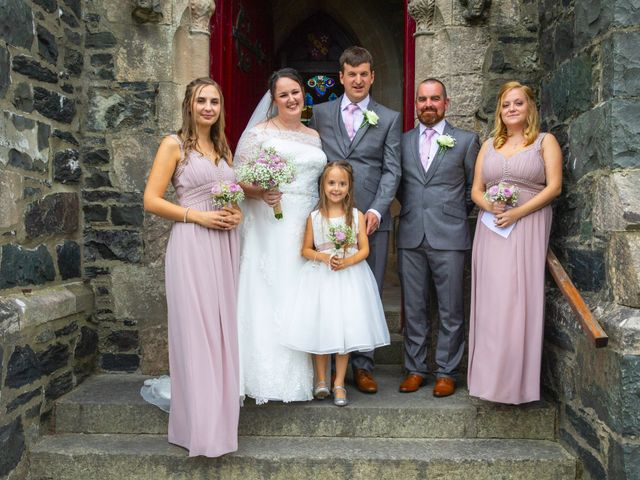 Jon and Beca's wedding in Llanfairpwllgwyngyll, Isle of Anglesey 9
