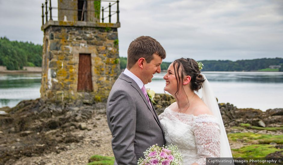 Jon and Beca's wedding in Llanfairpwllgwyngyll, Isle of Anglesey
