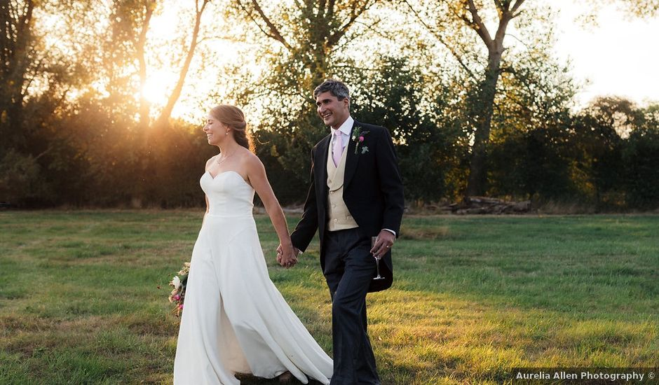 Geoff and Molly's wedding in Princes Risborough, Buckinghamshire