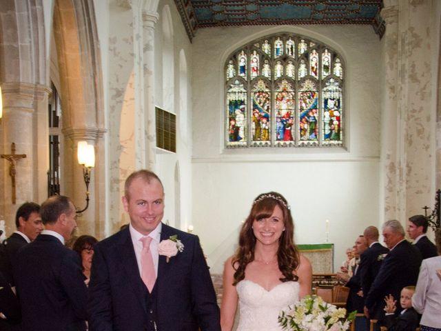 Sally & Dennis's wedding