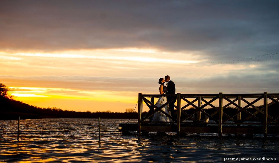 James and Heidi's wedding in Ormesby, Norfolk