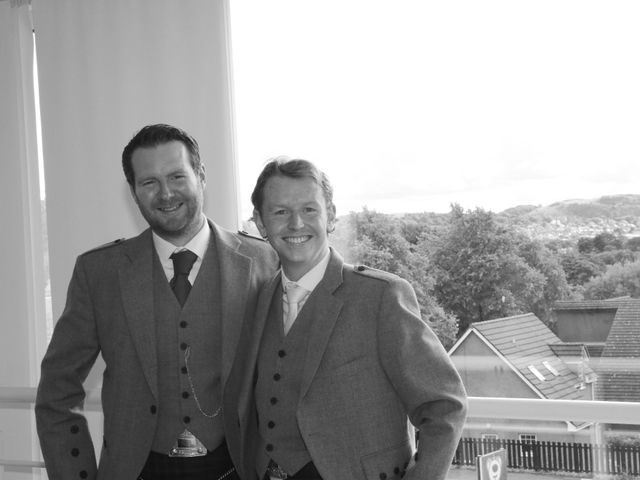 Stephen and Donna's wedding in Edinburgh, City of Edinburgh 2