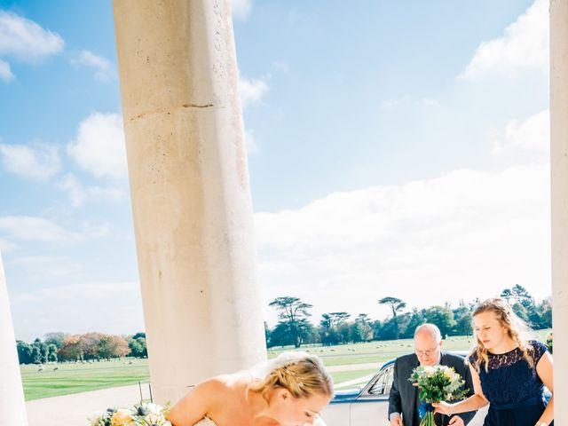 Geoff and Ellie's wedding in Goodwood, West Sussex 8