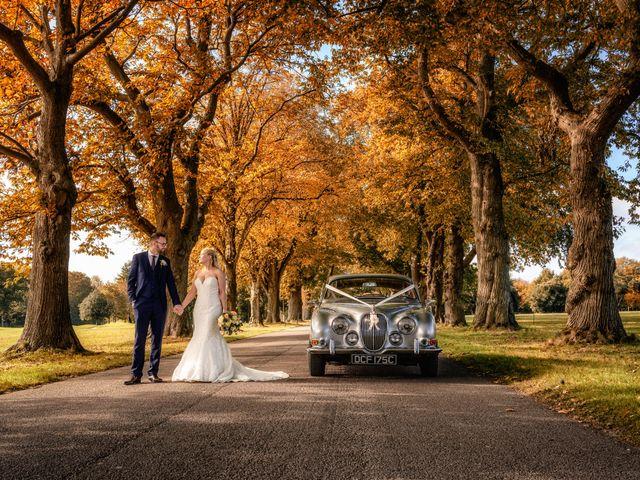 Geoff and Ellie's wedding in Goodwood, West Sussex 1