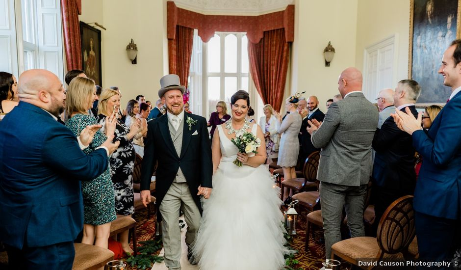 Dom and Cat's wedding in Fawsley, Northamptonshire