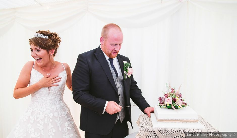 Dan and Faye's wedding in Kirkby Lonsdale, Lancashire