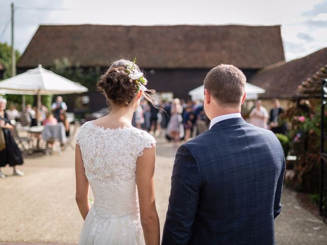 Matt and Dominique's wedding in Fittleworth, West Sussex 1