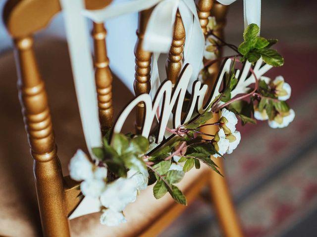 Ben and Jessie's wedding in Stoke Poges, Buckinghamshire 2