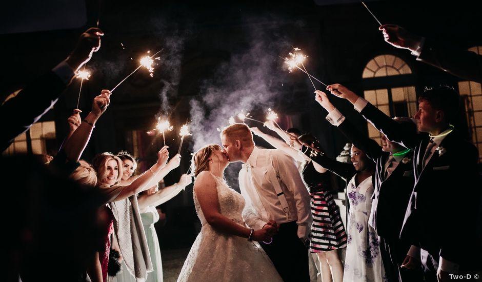 Ben and Anna's wedding in Woburn, Buckinghamshire