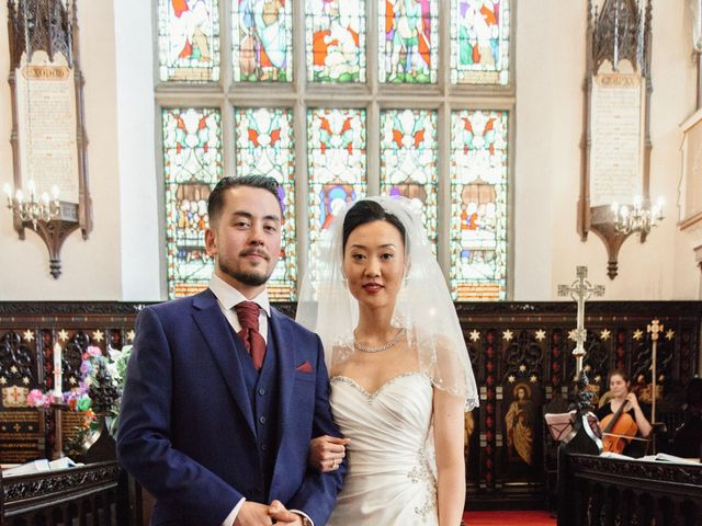 Mike and Jessica's wedding in Manchester, Greater Manchester 5