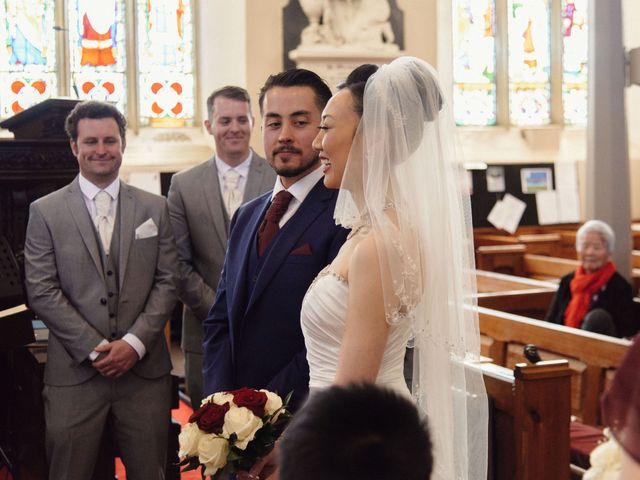 Mike and Jessica's wedding in Manchester, Greater Manchester 9