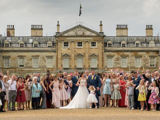Reece and Samantha's wedding in Woburn, Buckinghamshire 1