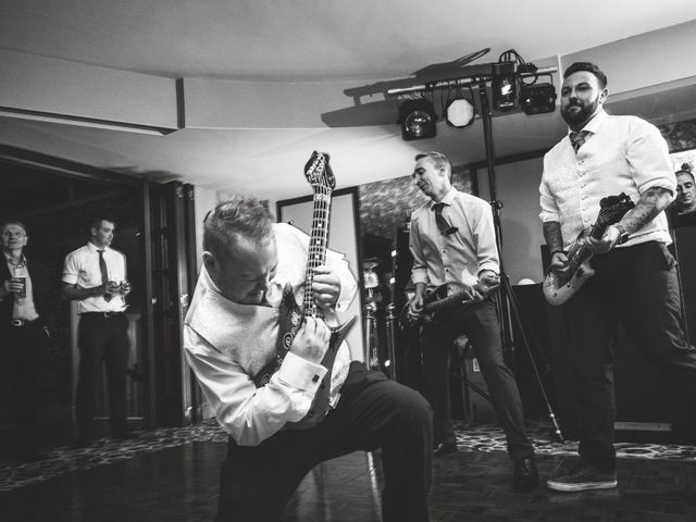 Bradley and Wayne and Laura's wedding in Wilmslow, Cheshire 4