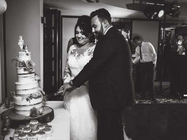 Bradley and Wayne and Laura's wedding in Wilmslow, Cheshire 7