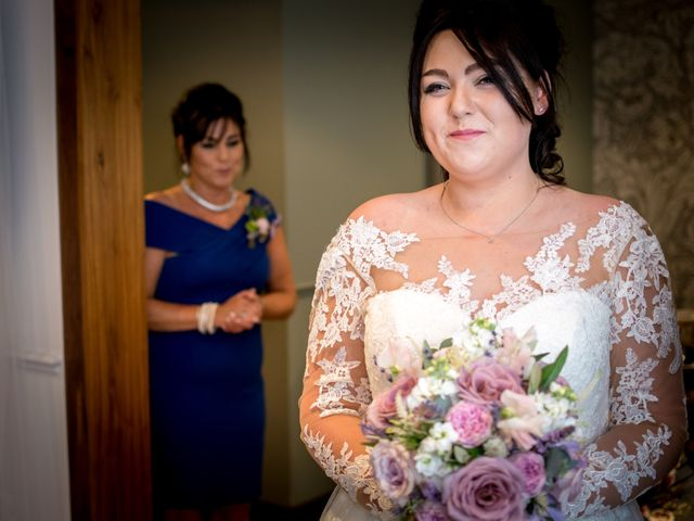 Bradley and Wayne and Laura's wedding in Wilmslow, Cheshire 2