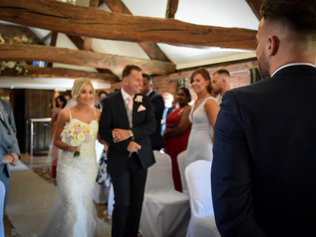 Katie and Nathan's wedding in Trowell, Nottinghamshire 7