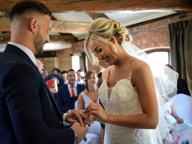 Katie and Nathan's wedding in Trowell, Nottinghamshire 8