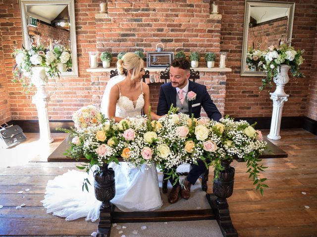 Katie and Nathan's wedding in Trowell, Nottinghamshire 9