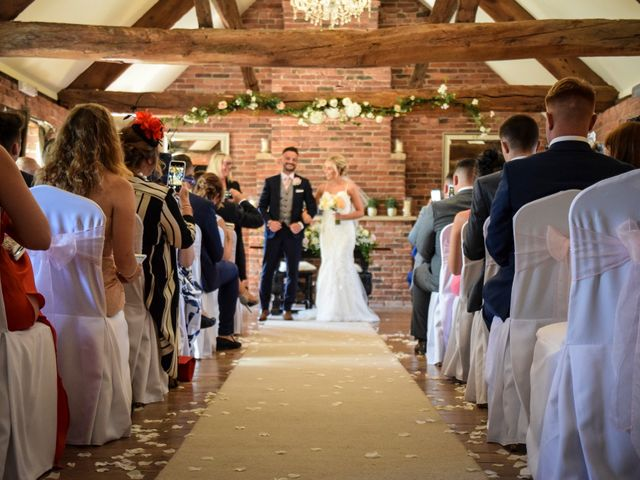 Katie and Nathan's wedding in Trowell, Nottinghamshire 10