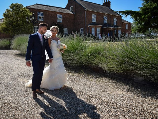 Katie and Nathan's wedding in Trowell, Nottinghamshire 2
