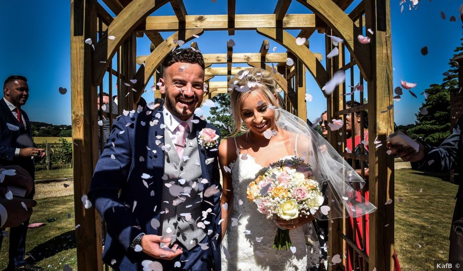 Katie and Nathan's wedding in Trowell, Nottinghamshire