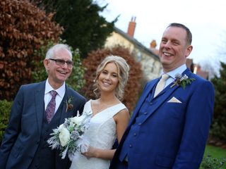 Mike and Lydia's wedding in Colwall, Worcestershire 3