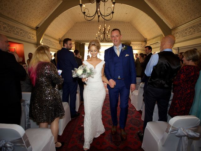 Mike and Lydia's wedding in Colwall, Worcestershire 10