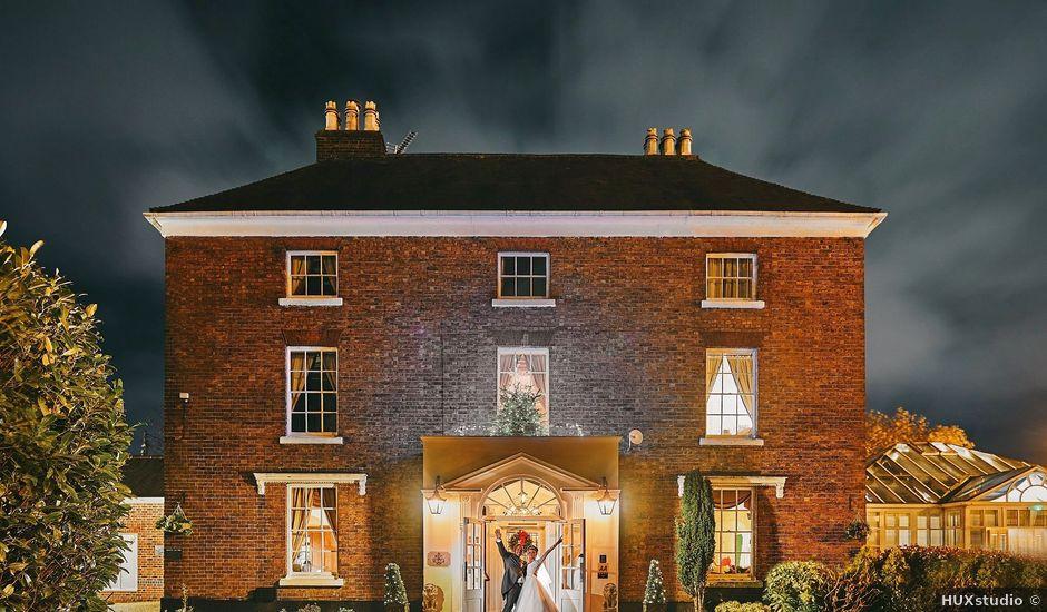 Steve and Angel's wedding in Telford, Shropshire