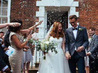 Sarah & Chris's wedding