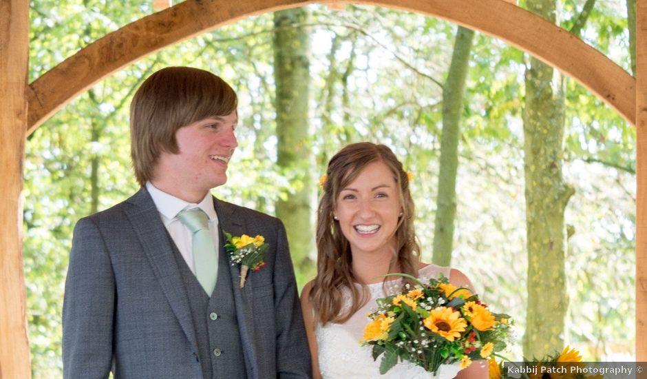 Joe and Emma's wedding in Mapperley, Derbyshire