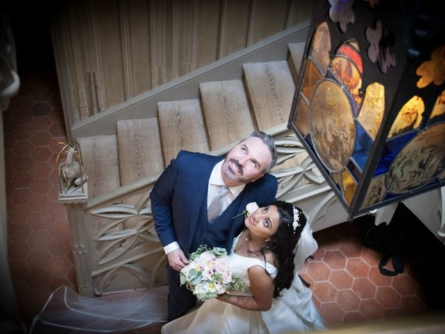 David and Aysha's wedding in London, Central London 5